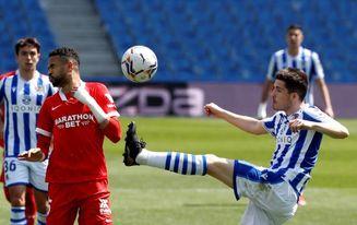 La Real Sociedad vuelve a la sequía sin David Silva