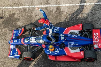 El español Alex Palou logra su primer triunfo en la IndyCar