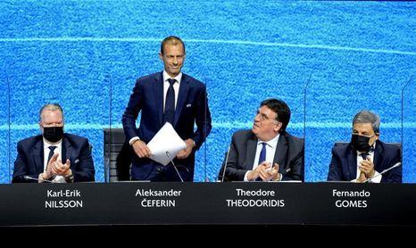 Las 55 federaciones de la UEFA aprueban por unanimidad una declaración de condena de la Superliga