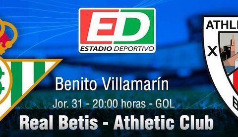 Real Betis-Athletic: Mejor de tres en tres (previa)
