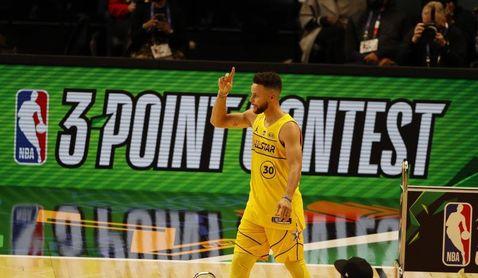 Otra noche de ensueño y marcas de Curry; triunfos de Jazz, Suns y Nuggets