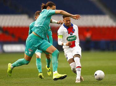 5-0. Icardi y Neymar mandan un aviso al Manchester City