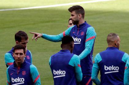 """Piqué: """"Como jugador y a corto plazo, la Superliga no es una decisión positiva"""""""