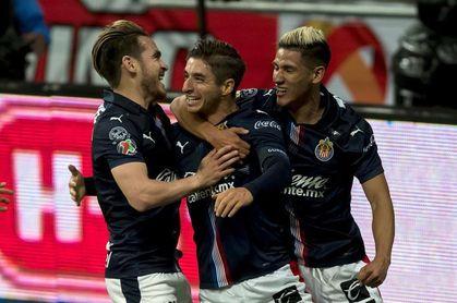 El Guadalajara vence al Monterrey de Aguirre en su propio estadio