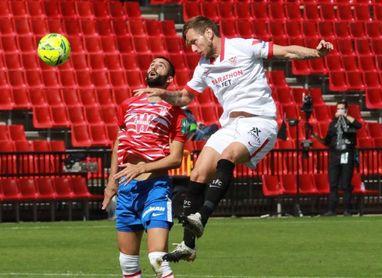 El Sevilla ganó en dieciocho de las veinticinco visitas del Granada