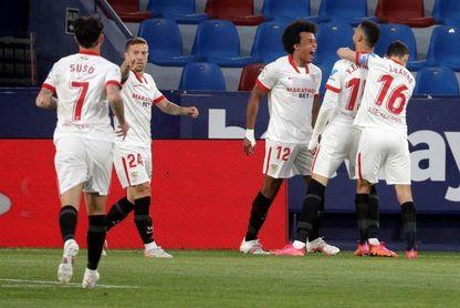 El Sevilla, a nueve puntos de igualar su récord en LaLiga