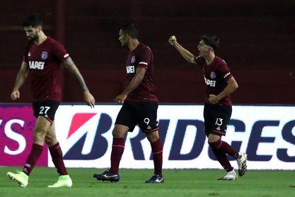 0-1. Lanús se lleva una agónica victoria ante Aragua