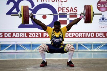 El colombiano Betancur se cuelga los tres oros en 89 kilos
