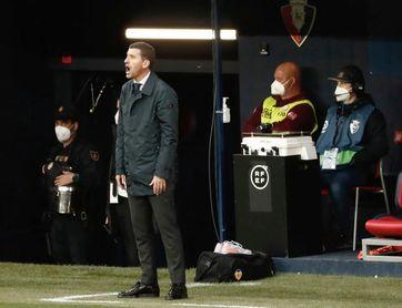"""Gracia: """"Afrontamos un partido vital ante el Alavés"""""""