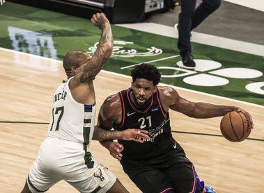 El MVP Embiid busca la revancha ante los Bucks