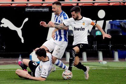 1-1. Valencia y Alavés firman un empate insuficiente para ambos