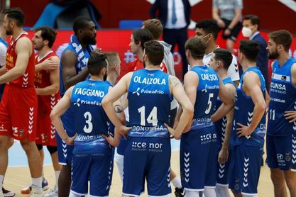 78-88. UCAM Murcia mira al play off y Gipuzkoa Basket, a la LEB Oro