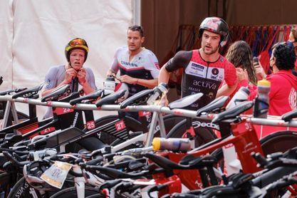 Jan Frodeno y Nicola Spirig, campeones del Anfi Challenge Mogán Gran Canaria