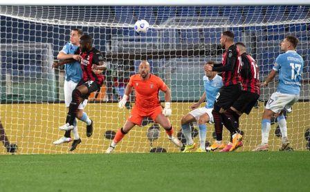 "Correa tumba al Milan y agrega al Lazio a la pelea por la ""Champions"""