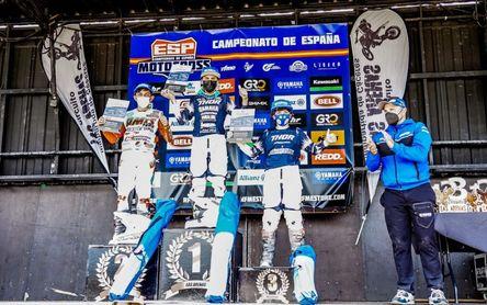 Pleno de victorias para Yamaha E. Castro en el Nacional de motocross