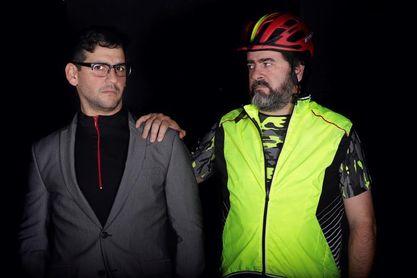 """""""El ciclista utópico"""", el peligro de la carretera y los falsos amigos"""