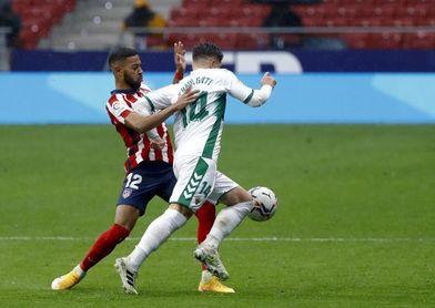 El Elche domina por la mínima los duelos como local ante el Atlético