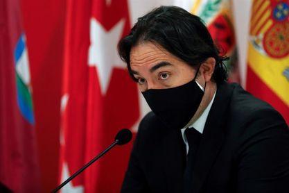 """Martín Presa sobre visita de Abascal: """"El Rayo es un equipo abierto a todos"""""""