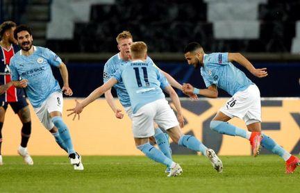 1-2 El City remonta ante el PSG y se acerca a su primera final