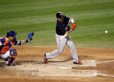 1-0. El puertorriqueño Christian Vázquez construye el triunfo de los Medias Rojas sobre los Mets