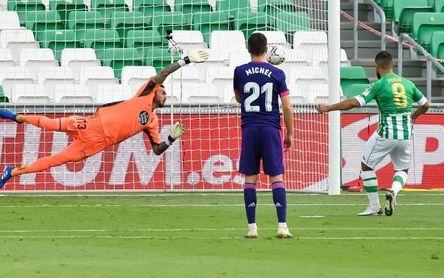 El Betis ganó un tercio de sus partidos de Primera en Valladolid