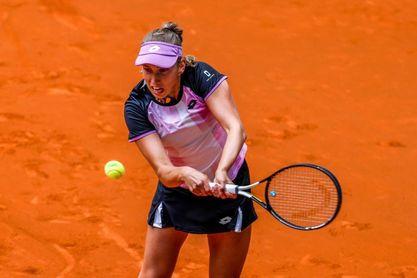 Elise Mertens, en segunda ronda