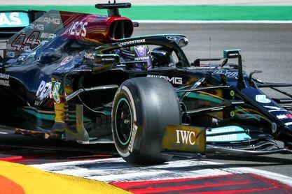 Hamilton busca su 'pole' número 100 en Portimao