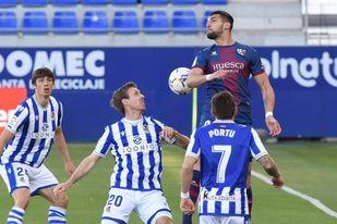 1-0. El Huesca sigue soñando