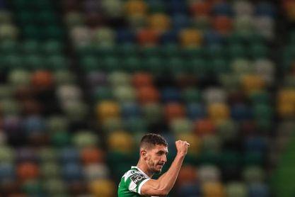Feddal y Jovane dan la victoria a un Sporting que acaricia la Liga