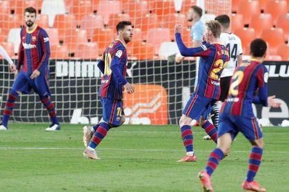 Messi y el Barça insisten