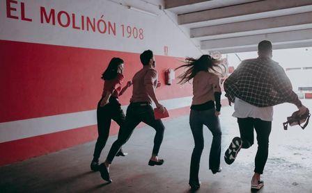 Ingenio en tiempos de crisis: El Molinón se convertirá en un Escape Room.
