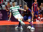 3-4. El Sporting remonta la final al Barça en cinco minutos