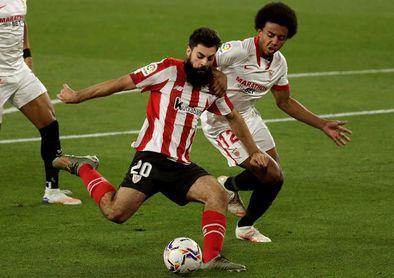 0-1. Iñaki Williams congela las ilusiones del Sevilla