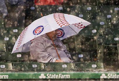 La lluvia obliga el aplazamiento del partido entre los Cachorros y los Dodgers