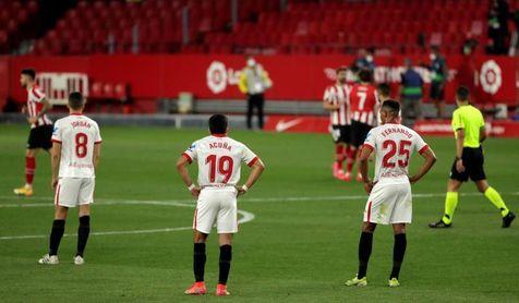 El Sevilla truncó una racha de dos meses sin perder