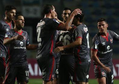 0-1. Newell's Old Boys vence sobre el final a un golpeado Palestino