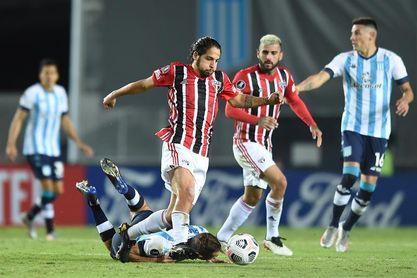 0-0. Racing Club y Sao Paulo empatan y siguen invictos en la Libertadores