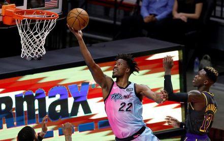 121-112: Los Miami Heat desquician a los Timberwolves de Rubio y Hernangómez