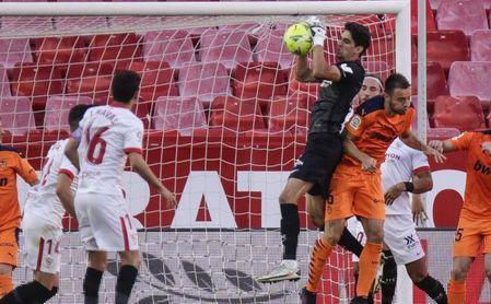 47% de porterías a cero desde la llegada de Lopetegui al Sevilla.