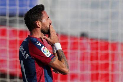 Morales puede completar en Getafe 100 partidos seguidos de Liga en el Levante