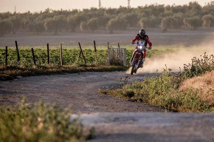 Joan Barreda (motos) y Al-Attiya (coches), líderes a falta de un día