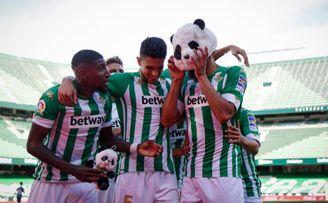 Borja Iglesias: ´Un partido incómodo, pero lo importante era ganar´.