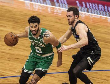 108-124. Tatum y los Celtics fueron muy superiores a los Timberwolves