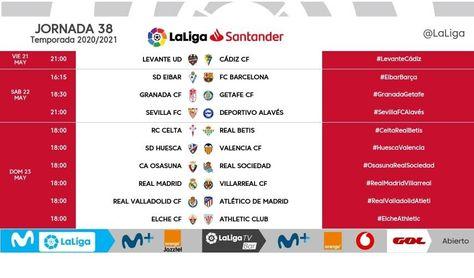Hasta cuatro partidos adelantados en la última jornada, entre ellos el Sevilla FC-Alavés