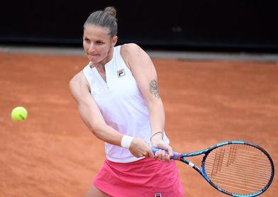 Swiatek aplasta a Pliskova 6-0 y 6-0 en 46 minutos y es nueva reina de Roma