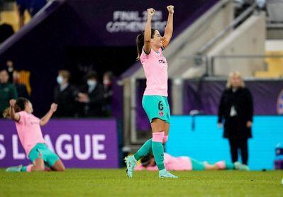"""Vicky Losada: """"Es un sueño ganar la Champions con esta camiseta"""""""