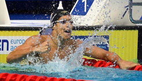 Hugo González baja en semifinales de 200 espalda, se centrará en 100 mariposa