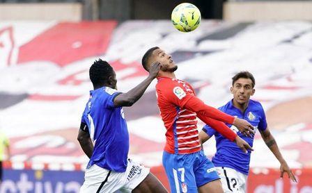Granada 0-0 Getafe: Empate justo en un partido de trámite con escasas ocasiones