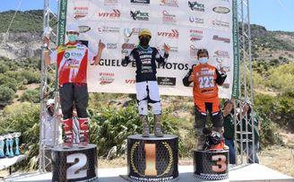 Salvador Pérez vence en Morón y sigue líder del Nacional de Motocross de MX85