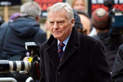 Muere a los 81 años el antiguo presidente de la FIA Max Mosley